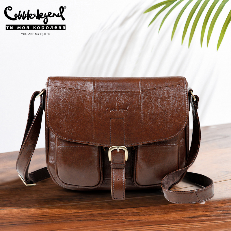 Cobbler Legend Brand Genuine Leather 2019 Women Shoulder Bag Casual Style Crossbody Bag For Ladies Handbags For Female 0700101-1