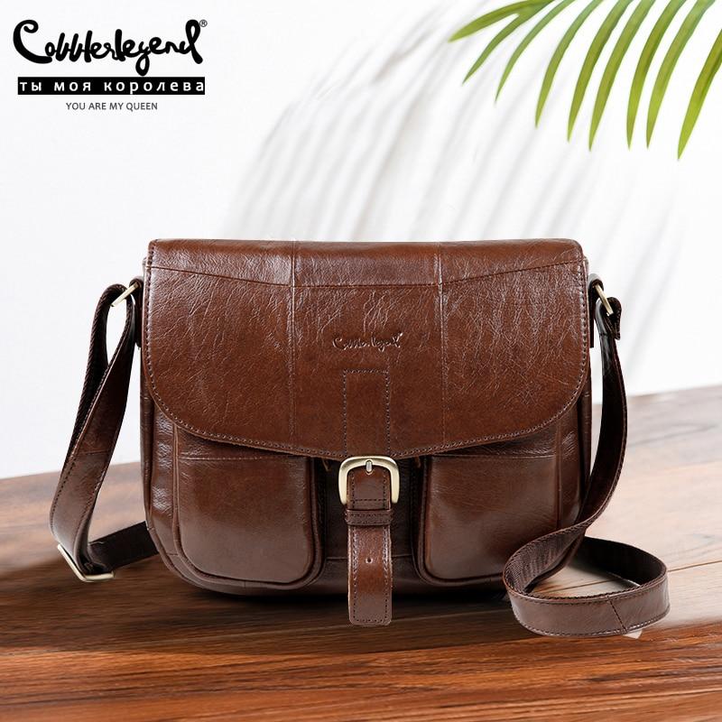 Cobbler Legend Brand Genuine Leather 2019 Women Shoulder Bag Casual Style Crossbody Bag For Ladies Handbags For Female 0700101-1