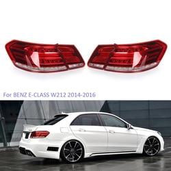 Luces traseras LED YTCLIN para mercedes-benz Clase E W212 E350 E300 E250 E63 2014-2016 Sedán, luz de freno, montaje de luz de coche