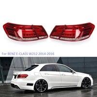 YTCLIN LED Tail Lights for Mercedes Benz E Class W212 E350 E300 E250 E63 2014 2016 Sedan Stoplight Brake Lamp Car Light Assembly