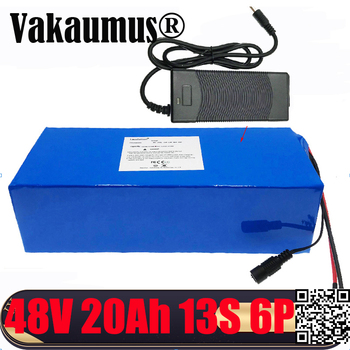 Fast delivery 48V 20Ah batery pack 18650 rechargeable battery pack With 2A charger built-in 30A BMS For electric bicycles motors image
