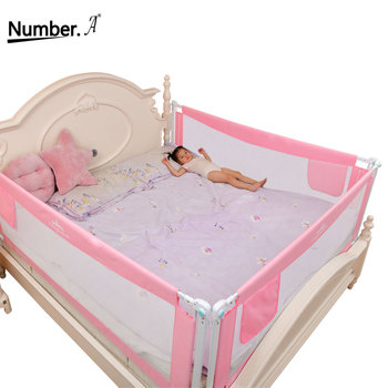 Baby Bed Fence Home Safety Gate Product children Barrier for bed Crib Rails Security Fencing for Children Guardrail Kids playpen solid wood children beds with guardrail small infant bedside single widening and splicing kids bed