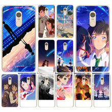 Lavaza Anime Your Name Kimi No Na Wa Hard shell Phone Case for Xiaomi Mi 5 5S 6 8 9 SE F1 A1 6X A3 3 2S(China)