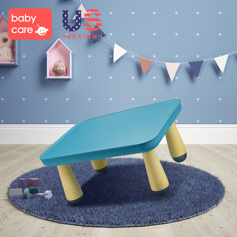 Play Toy Table Children Multi-purpose Receives Small Table Plastic Rectangular Kindergarten Learning Table