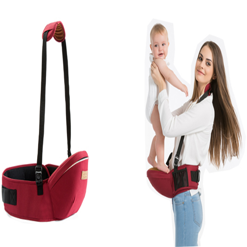 2019Baby Carrier Waist Stool Walkers Baby Sling Hold Waist Belt Backpack Hipseat Belt Kids Adjustable Infant Hip Seat Carrier