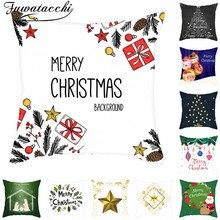 Fuwatacchi Merry Christma Cushion…