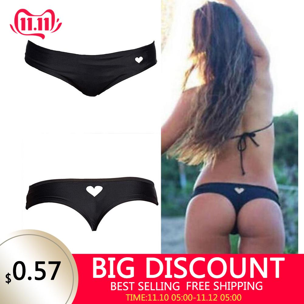 Swimwear Women Briefs Bikini Bottom Thong Swimsuit Classic Cut Bottoms Biquini Swim Short Ladies Swimsuit