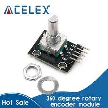 360 grad Rotary Encoder Modul Für Arduino Brick Sensor Schalter Entwicklung Bord KY-040 Mit Pins