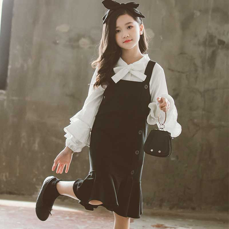 School Teen Fashion Girl Clothing Suit School Fashion Teenage Autumn Children Set Autumn Girls Clothes Kids 2PCS Suits For Girls