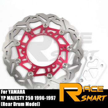 Motorcycle CNC Aluminium Alloy Front Brake Disks Discs Brake Rotors Part For YAMAHA YP MAJESTY DX 250 1998 1999 DX-250 DX250