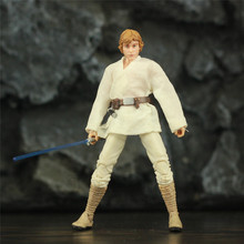 "SW Young Luke 6"" Action Figure Original Black Series Collectable Wars Doll Toys"