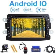 Zltoopai Android 10 Cho Renault Lau Bụi Dacia Logan Sandero Xray 2 Tự Động Phát Thanh Máy Nghe Nhạc Đa Phương Tiện GPS NAVI Đầu Đơn Vị âm Thanh Nổi SWC