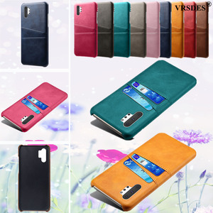 For Samsung Galaxy S20 Ultra S10 S9 S8 Plus Note 8 9 10 Plus 5G Card Slots Cover PU Leather+PC Case For Samsung S10E S7 Edge(China)