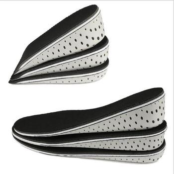 1 para twarde oddychające wkładki z pianki Memory wkładka podwyższająca pięty wkładki podnoszące wkładki do butów wkładki do butów winda wkładki do Unisex tanie i dobre opinie LINLING CN (pochodzenie) 1 cm-3 cm shoe insole EVA Shoe Pad Height Increase Insoles shoes cushion pads insoles shoe cushion protectors