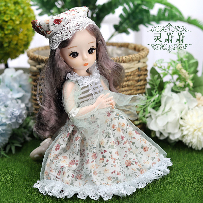 12 Inches Princess 30cm Joints BJD Suit Series Doll Toys for Girls Children Birthday Christmas Gifts 10