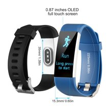 Fitness Tracker HR Activity Watch with Heart Rate Monitor IP67 Waterproof Smart Bracelet Calorie Counter Pedometer