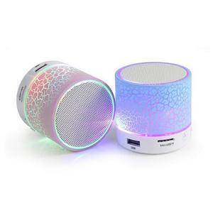 Bluetooth Speaker Mini Wireless Speaker Subwoofer Colorful LED Light Portable 20W 15W 400mah Built-in Battery Plastic Full-range