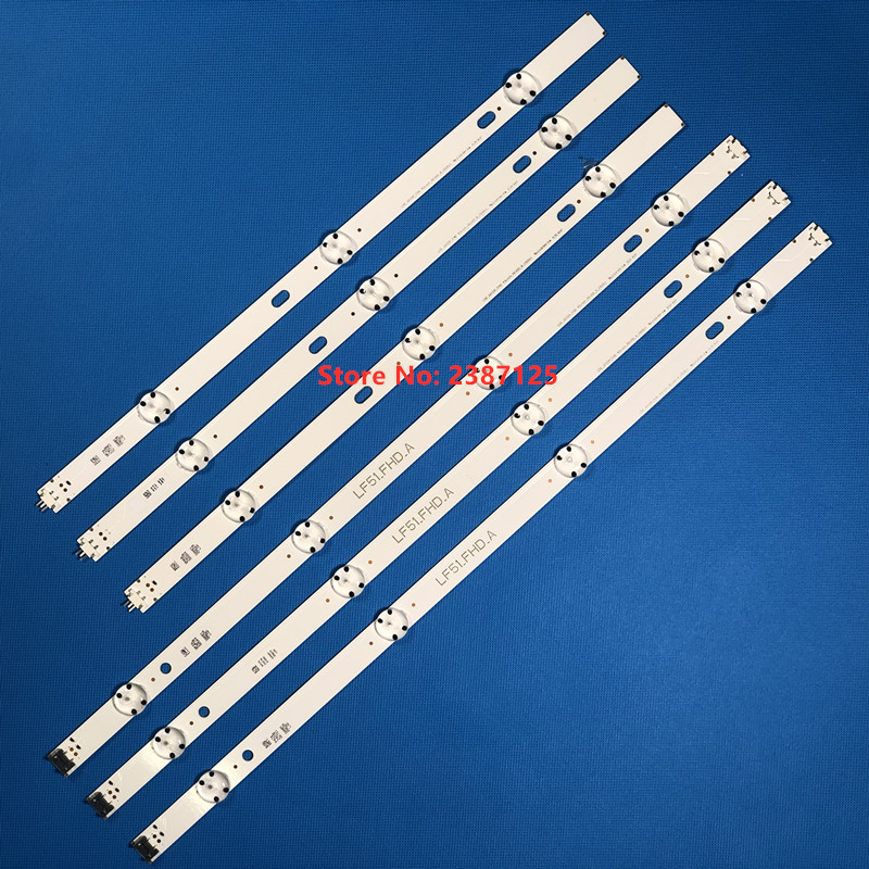 LED Strip For  6916L-0962A 6916L-0962B LG 43LH5100 43LH5700 43LF510V LF51_FHD_A LF51_FHD_B LGE_WICOP_FHD 43INCH_REV00_A/B_150511