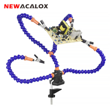 NEWACALOX Third Hand PCB Multi-Function Welding Repair Tool Professional Fixed  Various Electronic Products