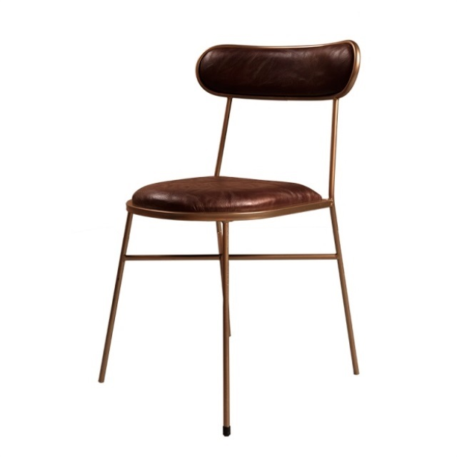 Cafe Table And Chair Combination Creative Personality Dining Chair Nordic Loft Industrial Style Restaurant Bar Metal Iron Chair