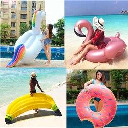Anneau de natation gonflable piscine géante salon piscine adulte flotteur Mattres cercle de natation bouée de sauvetage radeau enfant piscine d'eau jouets