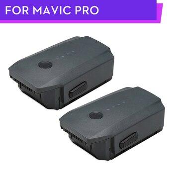 2 UNIDS DJI Mavic Pro Inteligente 27-min Max Tiempo de Vuelo de Vuelo de la Batería 3830 mAh 11.4 V Diseñado para la Mavic pro