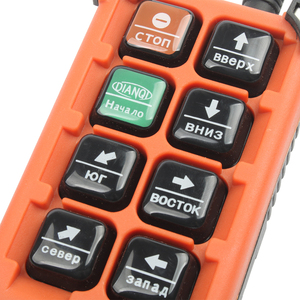 Image 5 - Control remoto Industrial de 220V, 380V, 110V, 12V, 24V, interruptores, Control de grúa de levantamiento, grúa elevadora, 1 transmisor + 1 receptor F21 E1B