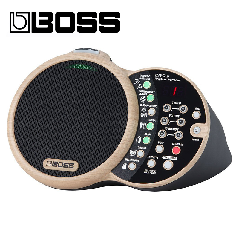 Boss Rhythm Partner Dr-01s High Quality Sound System Genuine Rhythm Partner Drumcomputer