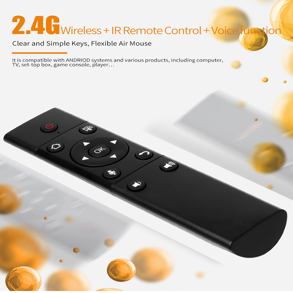 Mini Air Mouse 2.4G Voice remote control Infrared wireless remote control For Computer TV Projector S122 keyboard
