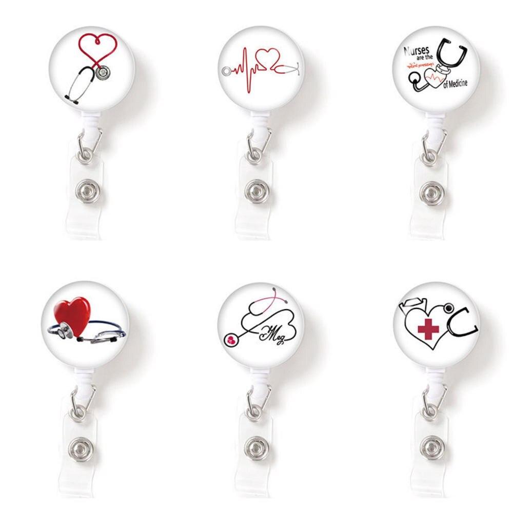 Badge Reel Medical Badge Reel Badge Holder Nurse Badge Reel Medical Badge Reel Nurses Badge Reel RN Badge Reel Pineapple Badge Reel