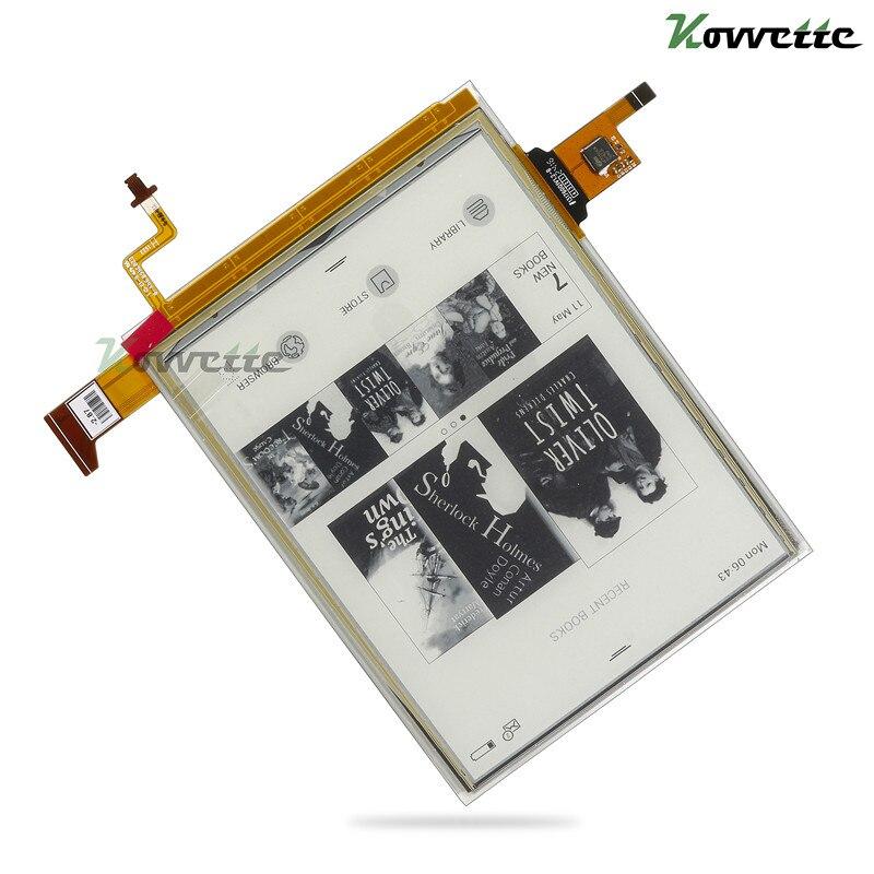 6-cal E-ink Carta 758x1024 LCD atrament wyświetlacz ED060XH7 z podświetleniem i dotykowy do portfela dotykowego Lux 3 PB626