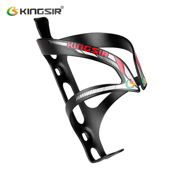 KINGSIR Road uchwyt na bidon rowerowy ze stopu aluminium Super lekki uchwyt na bidon górski bidon rowerowy akcesoria rowerowe tanie i dobre opinie Cage 8 Cage 9 Other Bicycle Bottle Cage Aluminum alloy Ultralight Does not rust Wear resistant