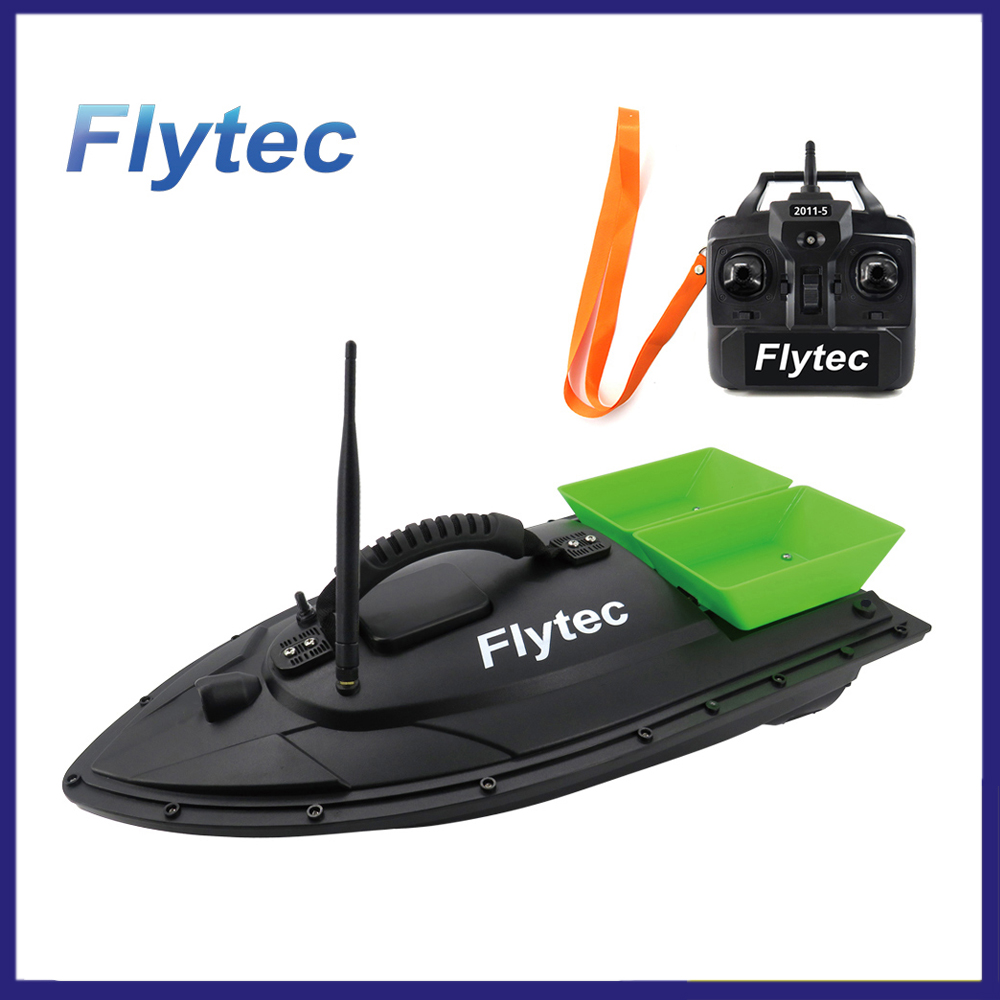 Flytec 2011-5 RC Boat Fish Finder 1.5kg Loading Remote Control Fishing Bait Boat RC Boat KIT Version DIY RC Boat