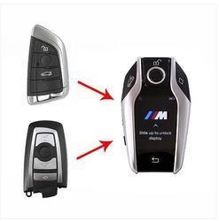 KEYECU Modified Boutique Smart LCD Key 315MHz HUF5662,434MHz HUF5767,868 MHz 5WK49861 for BMW 3 5 7 F Series FEM/BDC/CAS4/CAS4+