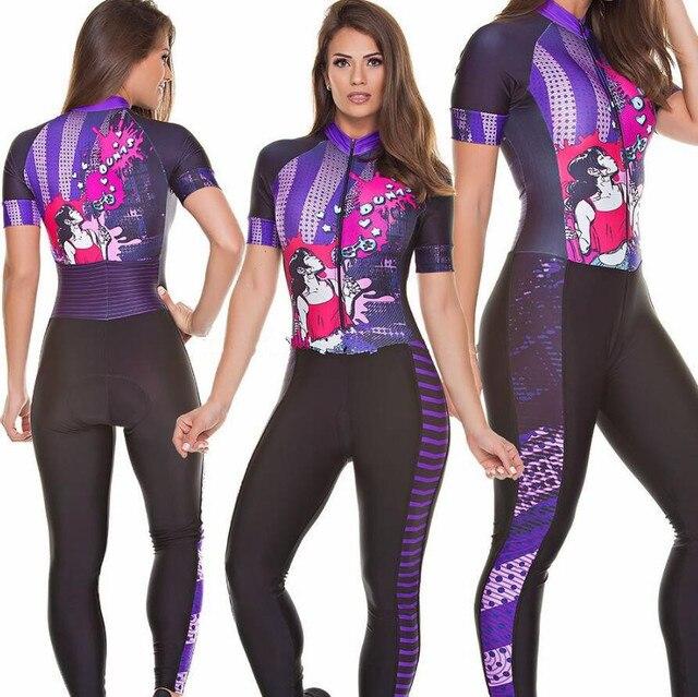 2020 pro equipe triathlon terno camisa de ciclismo das mulheres skinsuit macacão maillot ciclismo ropa ciclismo manga curta conjunto gel 4
