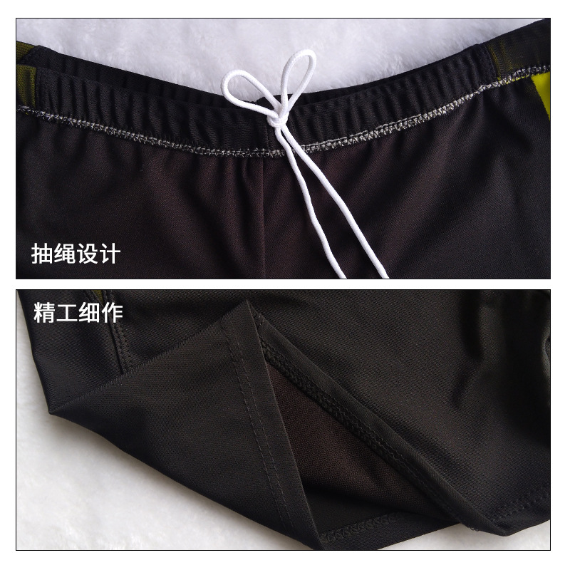 2019 New Style Swimming Trunks Beach Shorts Adult MEN'S Boxers Industry Quick-Dry Ultra-stretch Swimming Shorts