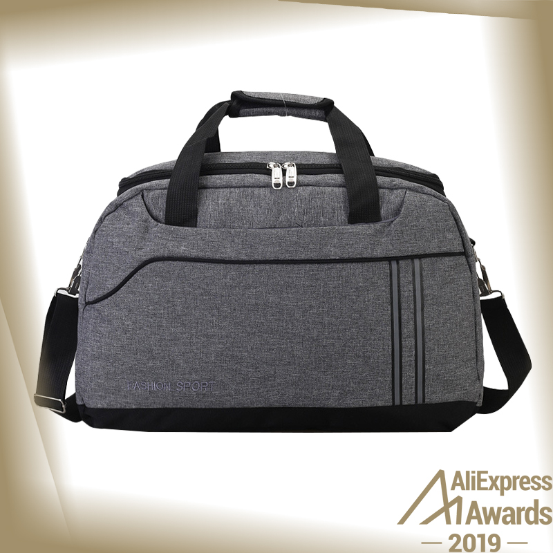 Korean-style Hand Travel Bag Men's Shoulder Duffle Bag Large Capacity Travel Sports Bag Fitness Packaging Sling Bag