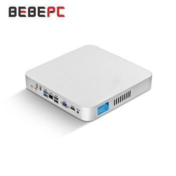 Mini PC Intel Core i5 7200U 3317U 4200U i7 4500U Windows 10 USB*6 Mini Computer Cooler Desktop minipc WIFI HDMI HD Graphics 4400