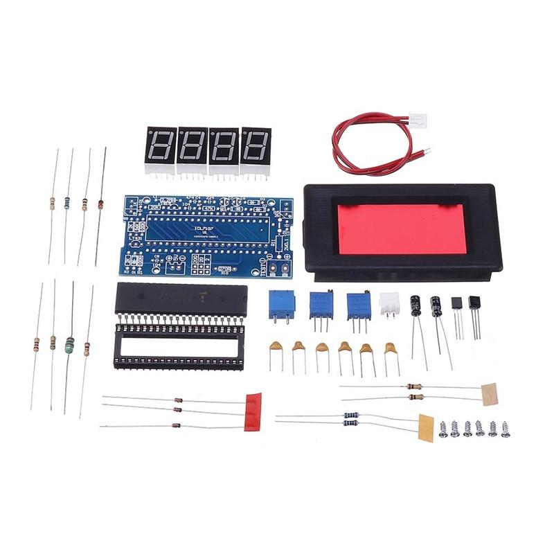 ICL7107 Voltmeter DIY Electronic Production Kit DC5V 35mA Voltage Meter Digital Voltmeter Led Modules Accessory