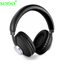 SODO SD-1007 Bluetooth Headphone Over-Ear Wired Wireless Headphones Bluetooth 5 0 Stereo Headset with Mic Support TF Card cheap Dynamic CN(Origin) Wireless+Wired 120dB For Internet Bar Monitor Headphone for Video Game Common Headphone For Mobile Phone