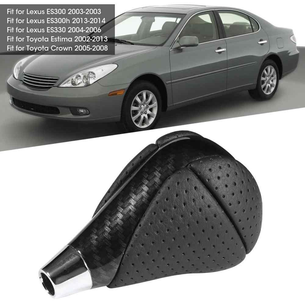 Car Carbon Fiber Gear Shift Knob Compatible with Lexus ES300 GS300 IS250 LS400 Nikou Gear Shift Knob