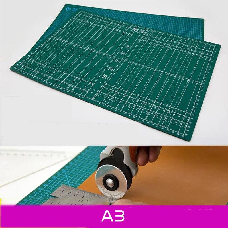 A3 Pad Pvc Cutting Board Carving Diy Hob Utility Knife Cutting Cloth 45 * 30 Self-healing 4mm Double-sided Scale Cutting Board