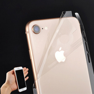 Ice Surface For iPhone 11 XS 6 Back Film Thin Screen Protector Protective Stickers Cover Transparent Paster Rear Decorative Film(China)