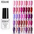 Розалинд фиолетовый Цветной Гель-лак для ногтей! Полупостоянная Нейл-арт гель по всей поверхности для маникюра, покрытие для ногтей, полуст...