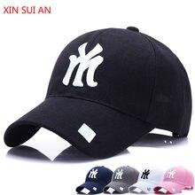 Casquette de Baseball coréenne pour femmes, automne hiver, k-pop, protection solaire, lettre Snapback NY LA, Couple amoureux, Hip Hop