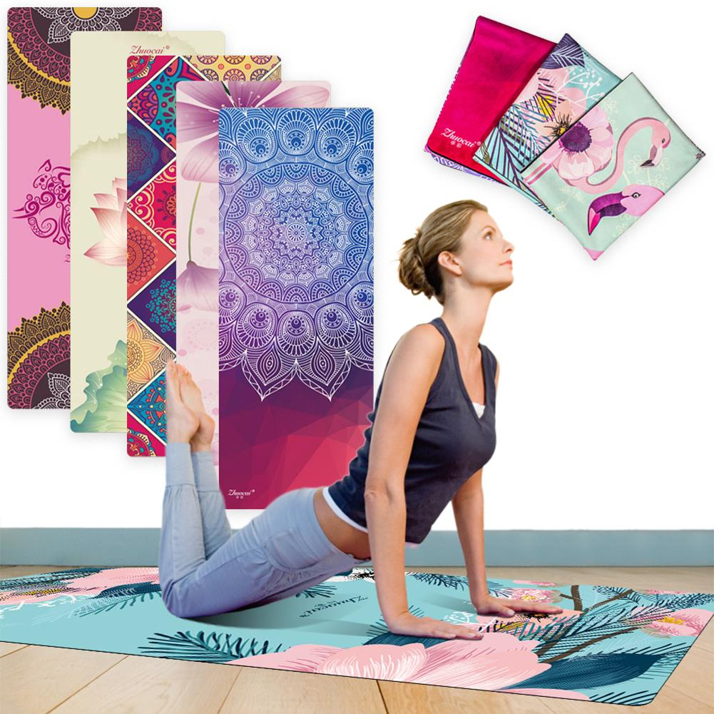 Folding Anti-slip Gym Fitness Home Exercise Sports Pilates Yoga Mat Cushion