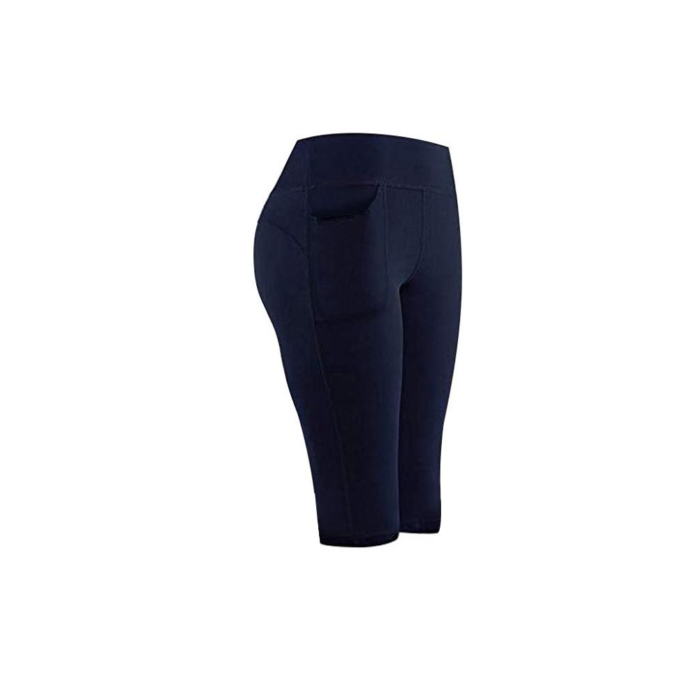 Leggings Sport Women Fitness High Waist Stretch Athletic Gym Casual Leggings Running Sports Pockets Active Pants For Cell Phone 4