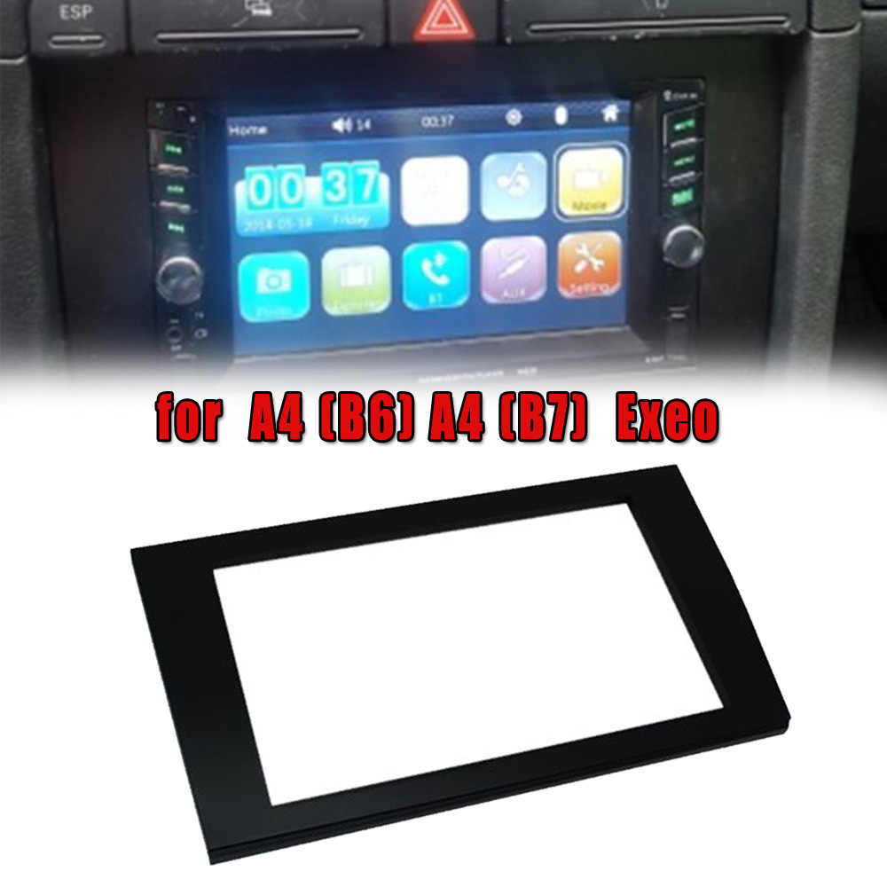 Auto Mobil Stereo Radio Bingkai Wajah Fasia Dash PANEL MOUNT untuk A4(B6) A4(B7)