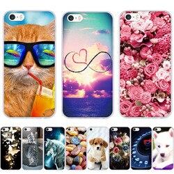 Для iPhone 5 6 7 8 чехол 3D Капа для iPhone 5S 6s 6 7 8 чехол силиконовый чехол для iPhone SE чехол для iPhone 5 5S SE 6 Plus телефона чехол s