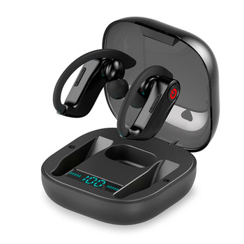Auriculares inalámbricos HBQ PRO TWS con caja de carga de micrófono, pantalla LED estéreo 3D, auriculares para juegos de negocios con bluetooth 5,0 para deportes Q62